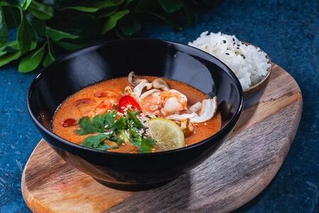 Суп Том Кха с цыпленком