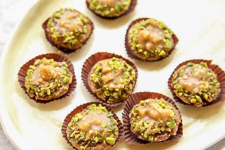 Тарталетка мини орехово-карамельная cooked