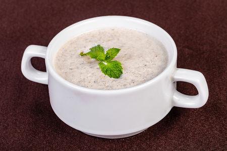 Крем-суп грибной из свежих шампиньонов