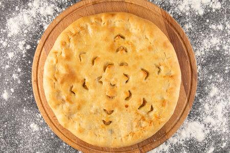 Хачапури с картофелем и сыром