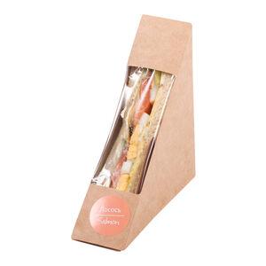 Сэндвич с лососем «Хлеб насущный»
