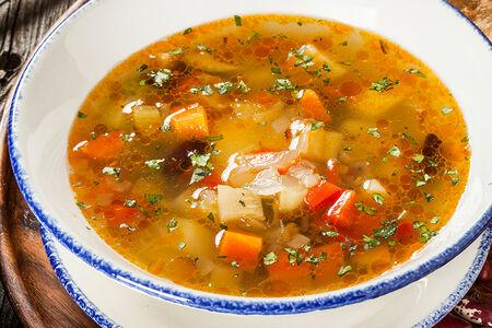 Овощной суп по-грузински