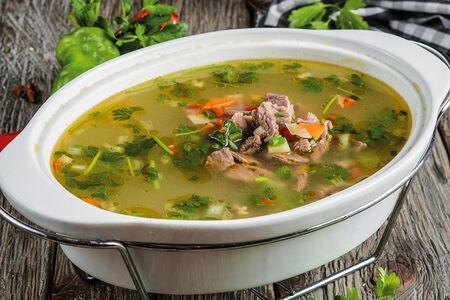 Суп из конины