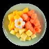 Фото к позиции меню Фруктовый микс Ананас, манго, папайя, Mosaic