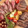 Фото к позиции меню Стейк Филе Миньон с овощами