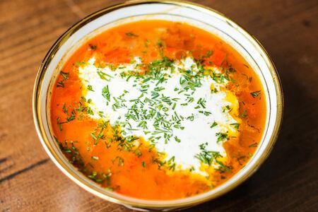 Суп Мастава из говядины