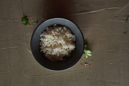 Рис отварной на пару*