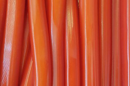 Мармелад трубочки джумбо клубника