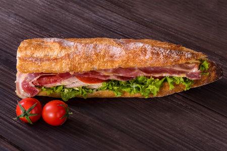 Сэндвич Курица-бекон