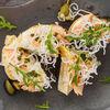Фото к позиции меню Пинчос с лососем