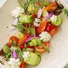 Фото к позиции меню Салат Греческий с муссом из феты и гигантскими оливками