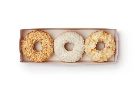 Набор из трех пончиков ассорти №6