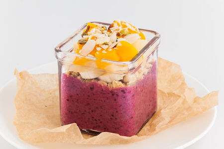 Смородиновый йогурт