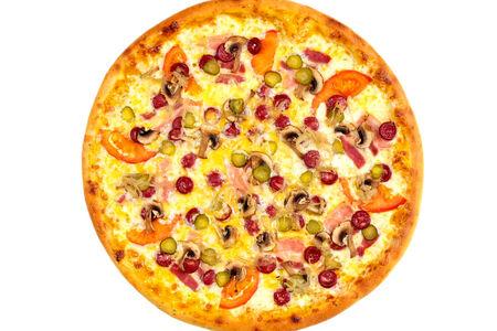 Пицца Аляска пышная