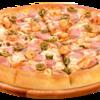 Фото к позиции меню Пицца С лососем и креветками