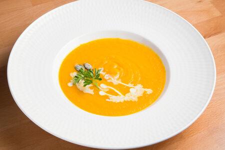 Тыквенный крем-суп