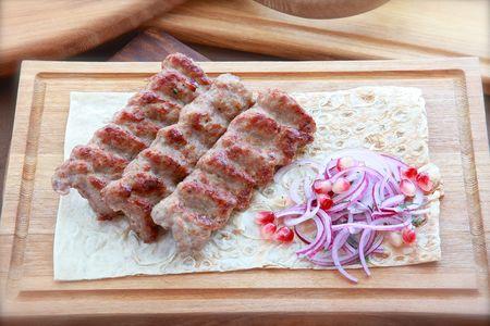 Шашлык люля-кебаб из баранины