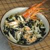 Фото к позиции меню Суп с лапшой и морепродуктами