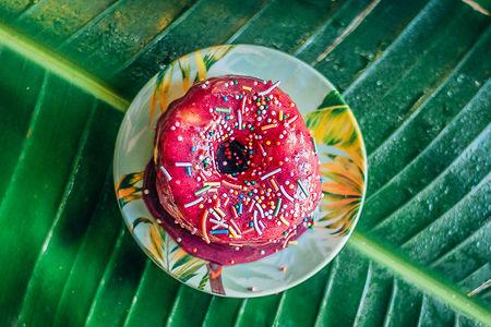 Пончик Черная смородина