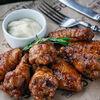 Фото к позиции меню Крылышки куриные барбекю