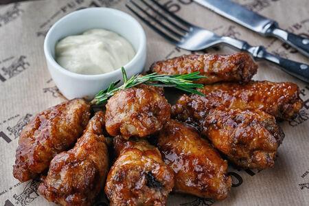 Крылышки куриные барбекю