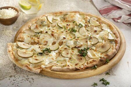 Пицца с грушей и блю чиз 28 см