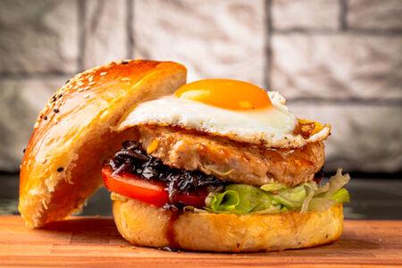 Бургер Утро с курицей