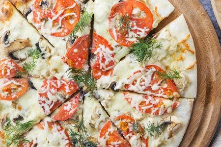 Пицца Чикен жюльен
