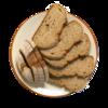 Фото к позиции меню Хлеб Воздушный с хрустящей корочкой нарезанный