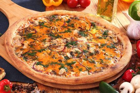 Пицца Жюльен с цыпленком