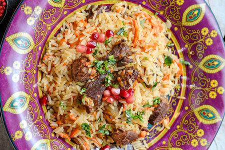 Плов узбекский с бараниной