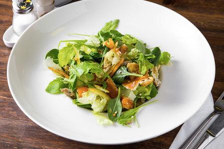 Салат с китайским омлетом