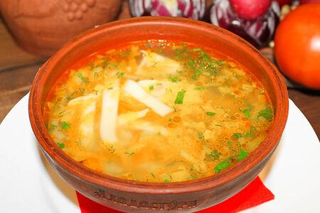 Суп Лапша из филе грудки