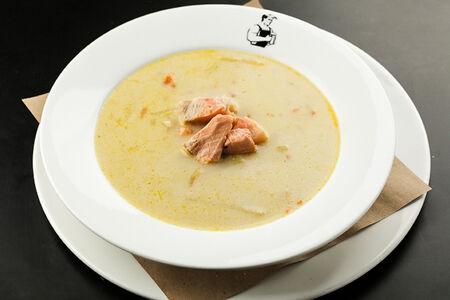 Суп Норвежский с лососем