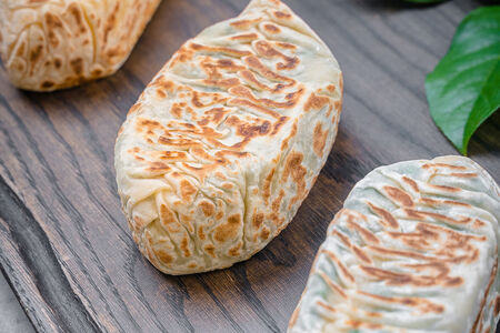Кок самса с сыром