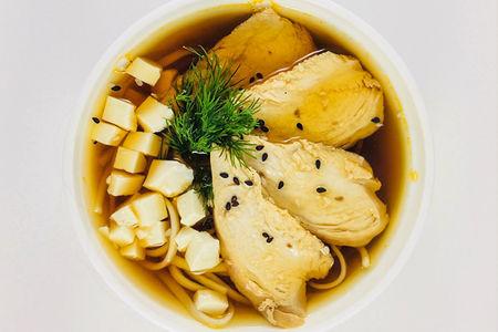 Суп Суимоно с курицей