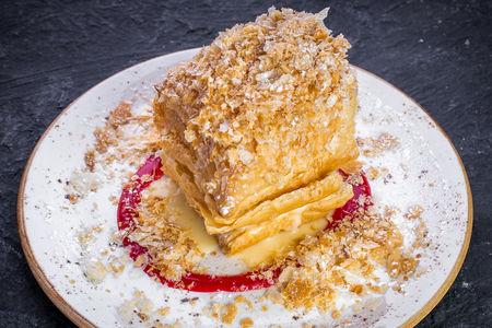 Горячий торт Наполеон