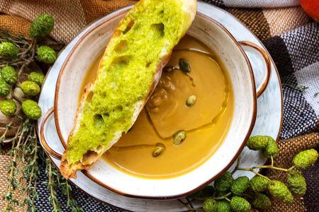 Крем-суп из каштанов