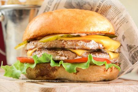 Чикенбургер Дабл