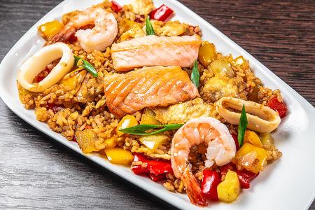 Тепаньяки морепродукты