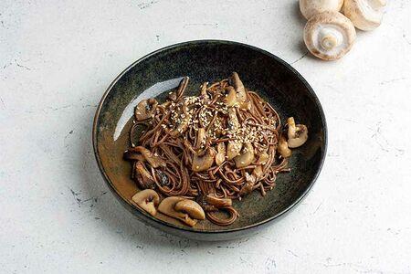 Гречневая лапша с грибами