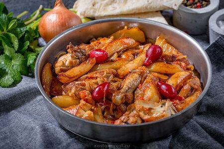 Цыпленок жаренный по-домашнему