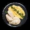 Фото к позиции меню Биточек из кролика паровой с картофельным пюре