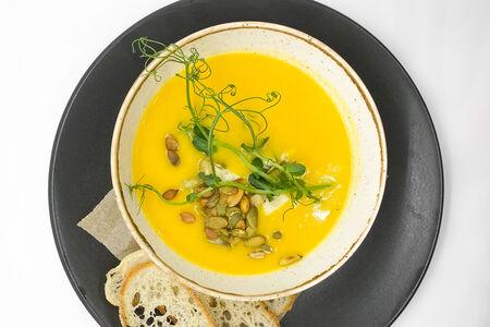 Суп Тыквенный с голубым сыром