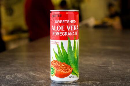 Напиток Алоэ Гранат