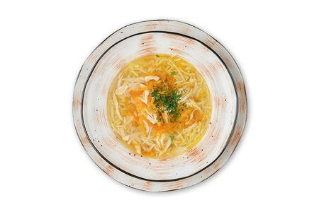 Суп Лапша с курицей по-домашнему