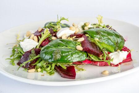 Салат Зеленый с крем-сыром