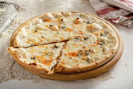 Пицца Кватро Формаджи 28 см, на тонком тесте