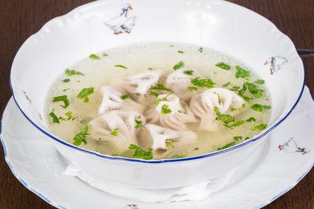 Похмельный суп с хинкали