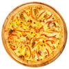 Фото к позиции меню Пицца с курицей и ананасом